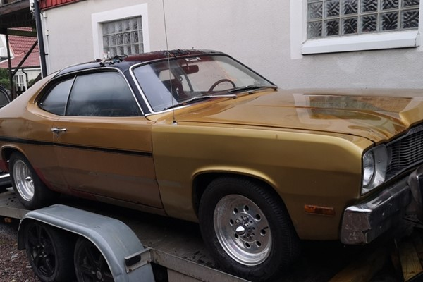 plymouth duster coupe 1974 sverige, plymouth duster 1974