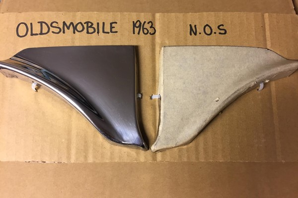 OLDSMOBILE 1963 NYA SCUFF PADS
