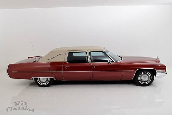 Cadillac Fleetwood Series 75 Executive Limousine / Einzelst